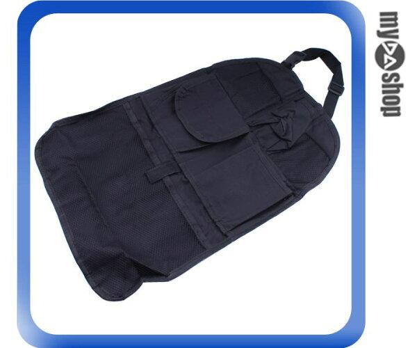 《DA量販店》汽車 車用 多功能 椅背 多口袋 置物袋 收納袋 儲物袋 雜物袋(80-1036)
