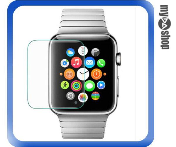 《DA量販店》Apple watch 42mm 手錶 鋼化膜 玻璃 保護膜 保護貼(80-2034)