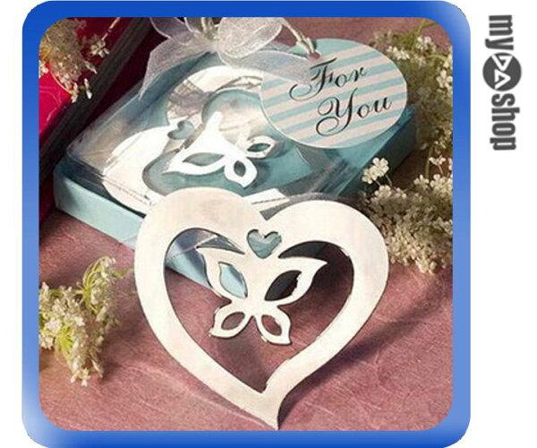 《DA量販店》浪漫 歐美 送客禮 婚禮小物 禮品 金屬 流蘇 書籤 愛心 蝴蝶(V50-0153)