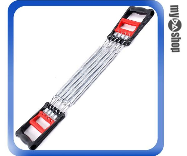 《DA量販店》彈簧拉力器 擴胸器 多功能 臂力鍛煉 胸肌訓練 健身器材(V50-0220)
