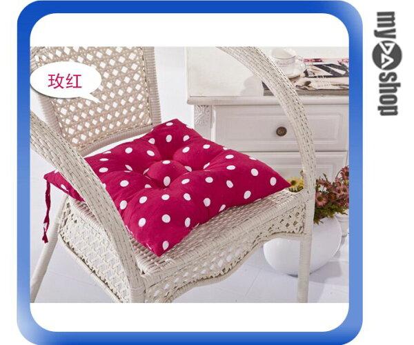《DA量販店》普普風 圓點 波點 抱枕 靠墊 椅墊 40*40 桃紅色 附真空收納袋(V50-0470)