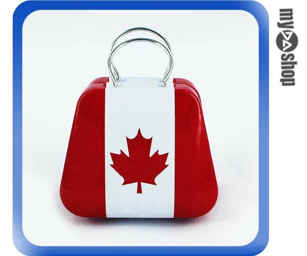 《DA量販店》婚禮小物 加拿大 國旗 喜糖盒 行李箱 手提包 金屬盒(V50-1034)