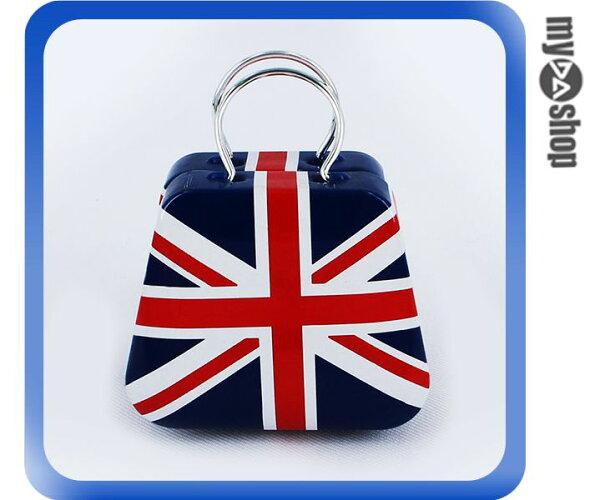 《DA量販店》婚禮小物 英國 國旗 喜糖盒 行李箱 手提包 金屬盒(V50-1035)