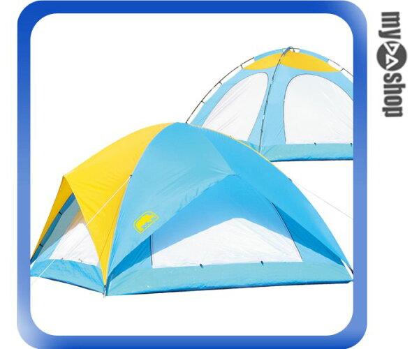 《DA量販店》RHINO 犀牛 戶外 登山 A-085 八人城堡蝶式帳 帳篷 (W07-233)