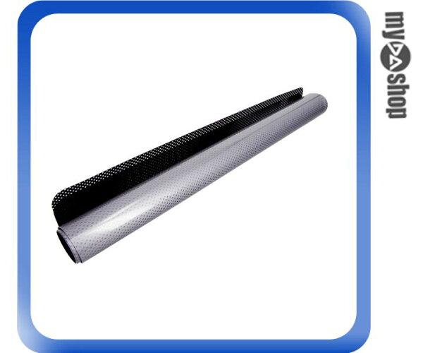 《DA量販店》汽車 精品 百貨 ST-66005 銀/黑 離型 真空 靜電 遮陽膜 2入 (W08-103)