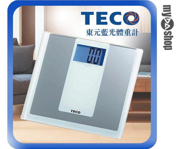 《DA量販店》東元 TECO 4吋 藍光 體重計 XYFWT481(W89-0032)
