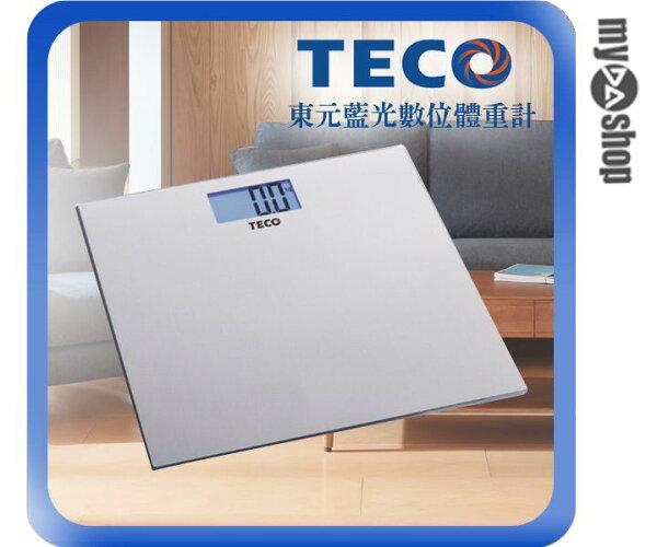 《DA量販店》東元 TECO 藍光 數位 體重計 XYFWT482(W89-0033)
