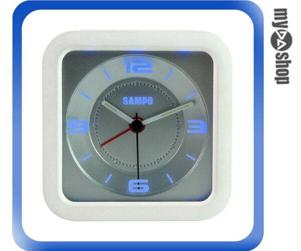 《DA量販店》聲寶SAMPO LED 音樂 指針 夜燈 鬧鐘 PY-Z1206ML 白色(W89-0079)