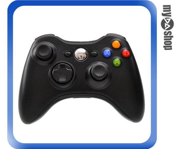 《DA量販店》XBOX360 無線 手把 搖桿 無線2.4G 適用PS3 PC 黑色(W94-0006)