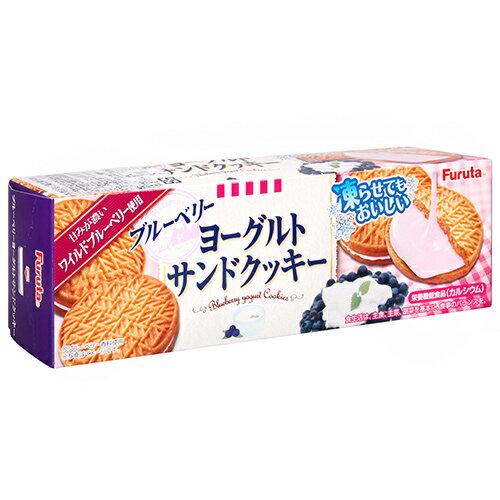 有樂町進口食品 新貨到【Furuta製果】藍莓優格夾心餅乾(87g) 4902501623749 - 限時優惠好康折扣