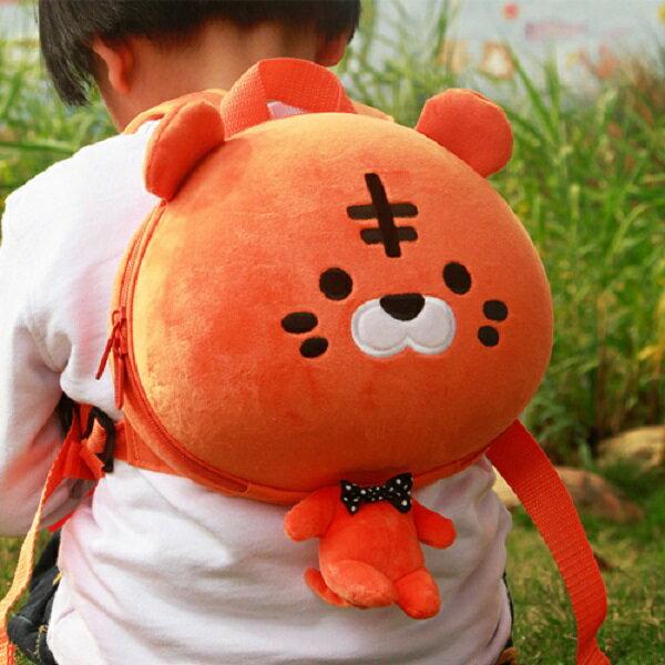 香港【Supercute】動物造型後背包 - 橘阿虎 - 限時優惠好康折扣