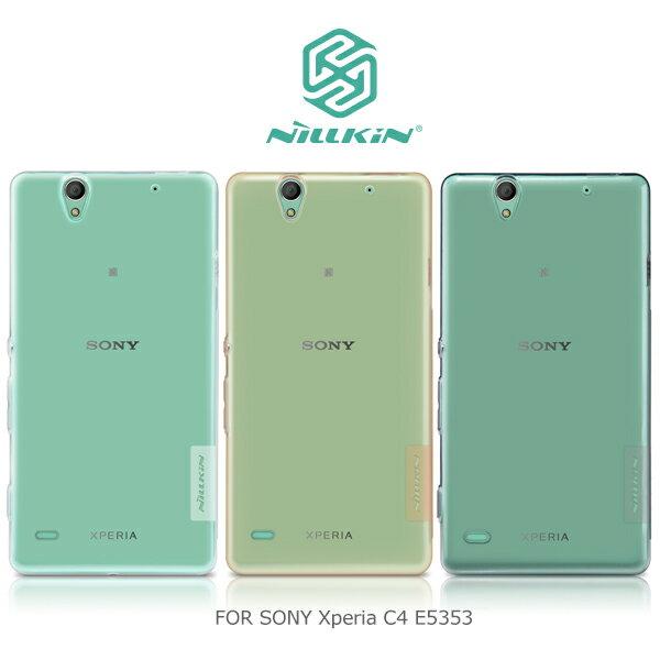 強尼拍賣~ NILLKIN SONY Xperia C4 E5353 本色TPU軟套 軟殼 果凍套 透色套