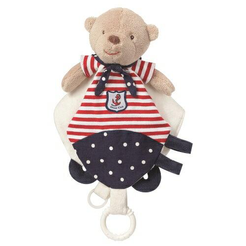 babyFEHN芬恩 - 海洋樂園水手熊安撫布偶奶嘴巾 0