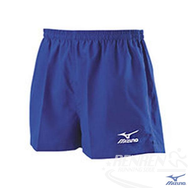 MIZUNO 美津濃 輕盈路跑褲 (寶藍) 背部口袋運動短褲 四分長