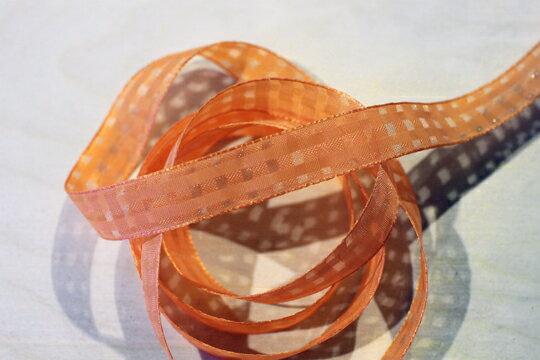 素色格網緞帶-15mm3碼(20色) 0