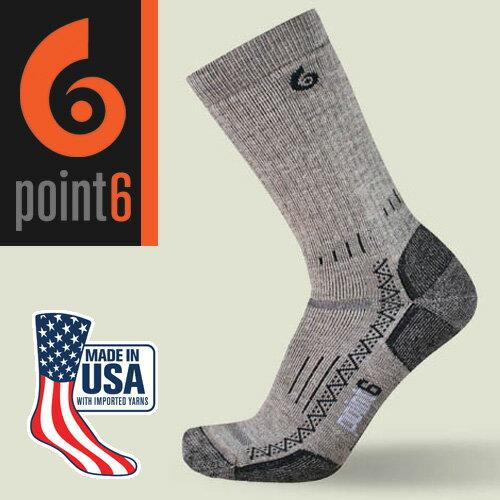 【鄉野情戶外專業】Point6 美國  hiking tech medium 中筒羊毛襪/美麗諾羊毛襪 運動襪 登山襪 戶外襪/1530
