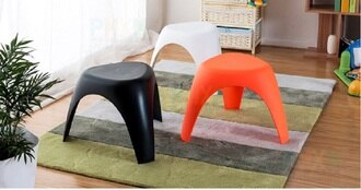 《Chair Empire》換鞋凳 餐廳等候椅 陽台椅 實上小凳子 塑膠椅 大象凳 化妝椅 小凳子 北歐 客廳