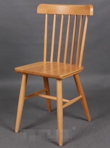 ~Chair Empire~實木會議椅 實木櫸木 餐椅 歐式田園咖啡休閒椅 劍背椅 木椅