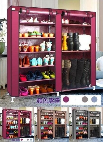 ~Chair Empire~椅子帝國九大隔層大容量組裝鞋櫃鞋架置物櫃置物架^(灰.咖啡.棗