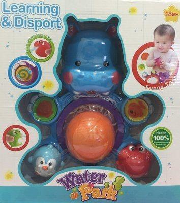 『121婦嬰用品館』豐力富 童趣河馬洗澡組 0
