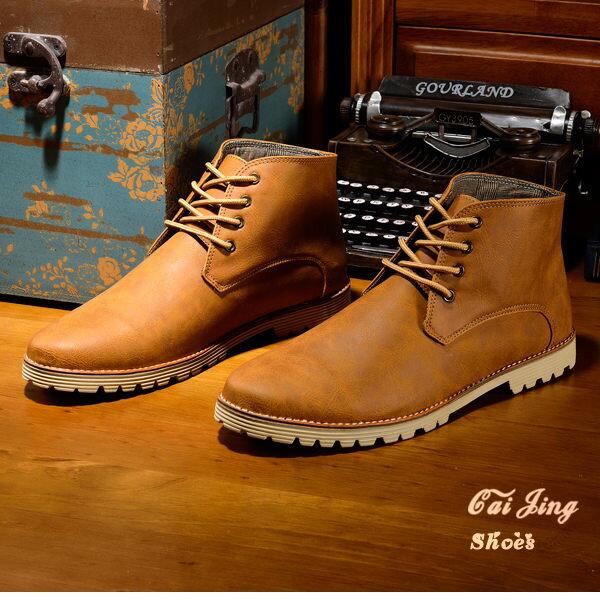 ◆高統靴◆水洗刀工刷紋 粗礦爆紋皮 高統靴-黑色/酒紅/棕色/咖啡 ★采靚衣飾★平價手工男鞋