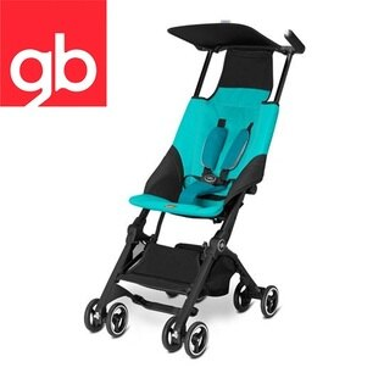 【Goodbaby】Pockit 折疊嬰兒手推車(水藍色) CAPRI BLUE 616230005(預購10月到貨)
