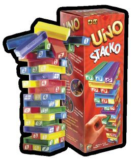 【瘋桌遊】一種UNO,雙重滋味 UNO疊疊樂