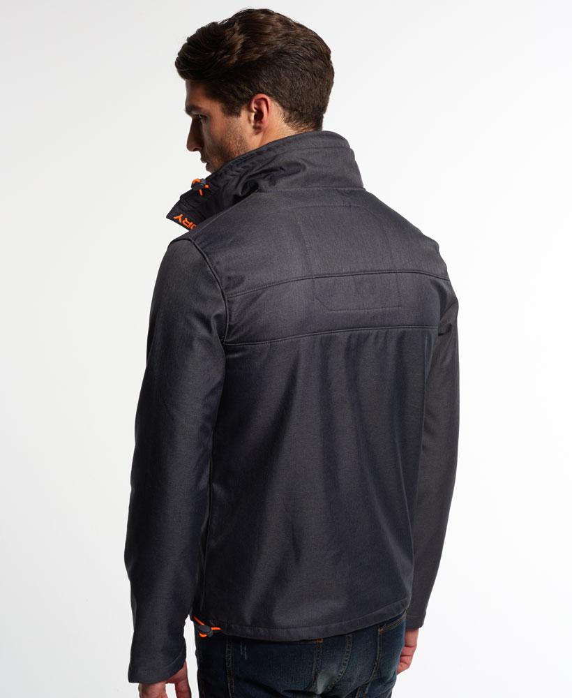 英國名品 代購 極度乾燥 Superdry Windtrekker 男士風衣戶外休閒外套 防水 深灰/螢光橙 2