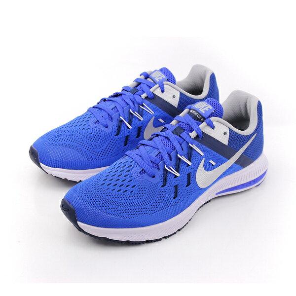 NIKE ZOOM WINFLO 2 跑鞋 男鞋 藍色 no338