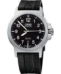 ORIS 豪利時0173576414164-0742205 BC3雙日曆機械腕錶/黑面42mm