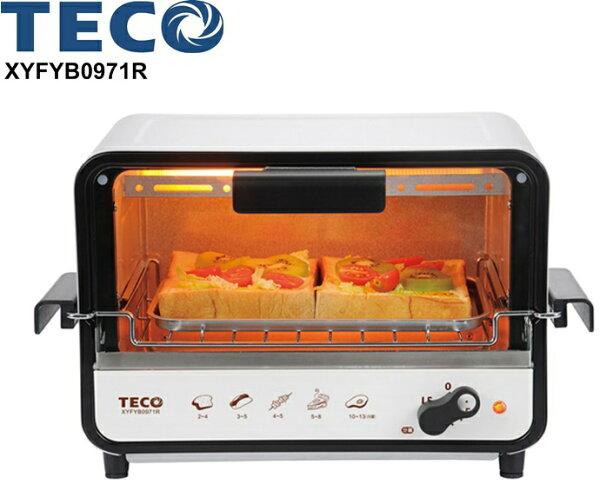 XYFYB0971R【東元】9L防燙外取式電烤箱 保固免運-隆美家電