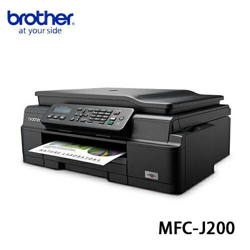 Brother MFC~J200 InkBenefit A4噴墨多 傳真複合機 ~  好康