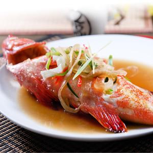 ~完售~新鮮物語~菲律賓七星斑紅條魚 350g±10^% 尾 ~  好康折扣