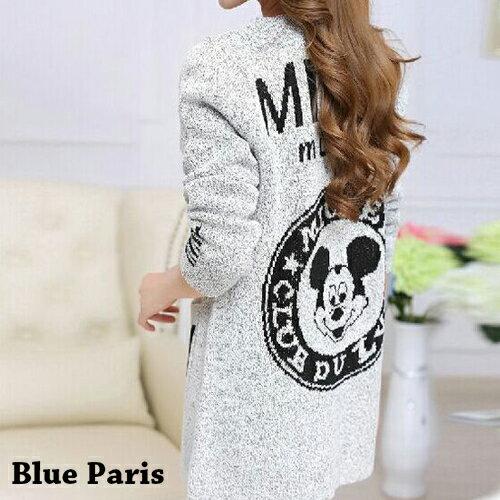外套 - 多款式開襟雙色麻花針織長袖外套【29190】藍色巴黎《4款》現貨 + 預購 0