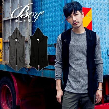 ☆BOY-2☆【NQ98041】韓版連帽針織背心外套 1