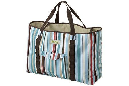【露營趣】中和 LOGOS LG73189012 花線條裝備袋 L 收納袋 露營袋 旅行袋 購物袋