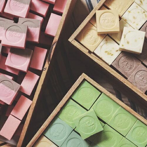 《雪文洋行》京都的日常(京風抹茶)72%馬賽皂-110g±10g 1