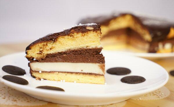 【扛餅乾】6吋巧克力奶凍波士頓派
