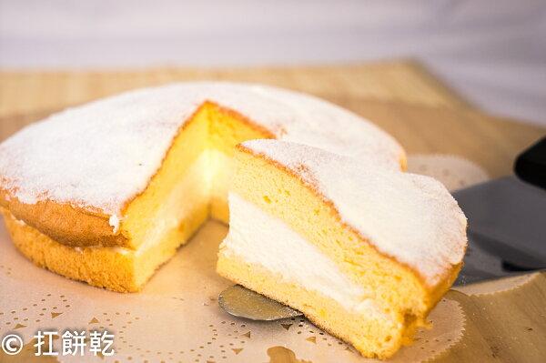 【扛餅乾】6吋原味鮮奶油波士頓派