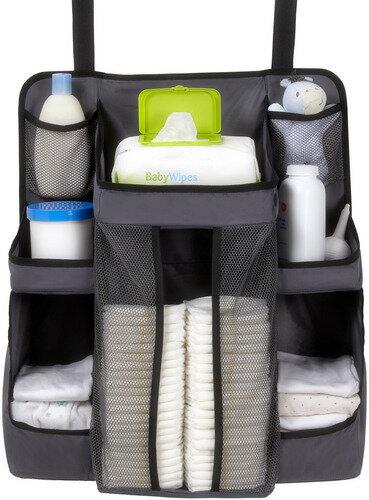 美國【DexBaby】Nursery Organizer 尿布收納袋(灰色) 0