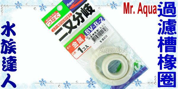 【水族達人】日本小零件《過濾槽橡圈.2入(大小各一)》☆過濾槽必備品☆