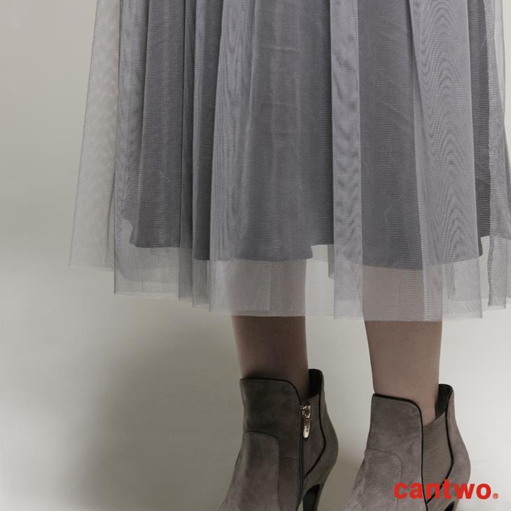 cantwo雙色長紗裙(共二色) 5
