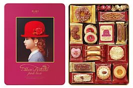 高帽子喜餅 粉紅帽15種 ^(新^)352g