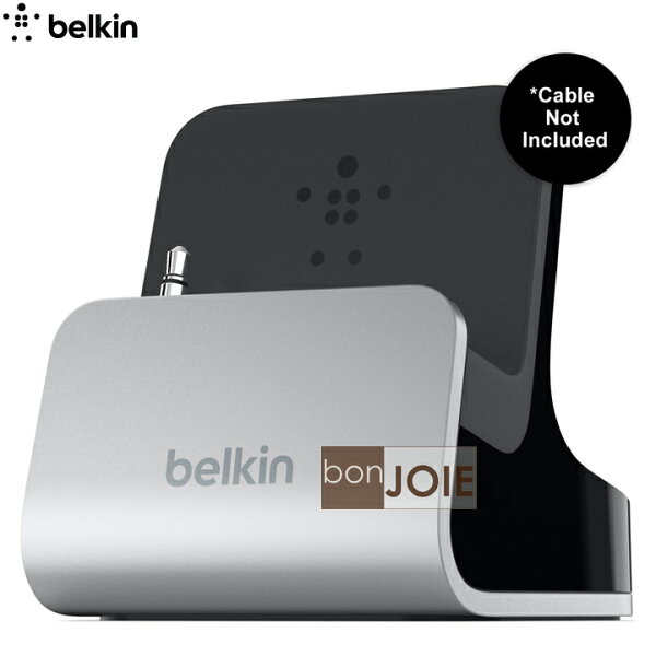::bonJOIE:: 美國貝爾金 Belkin Charge and Sync Dock 鋁質充電底座 (全新盒裝)(適用iPhone 5S / 5) Charge + Sync Dock