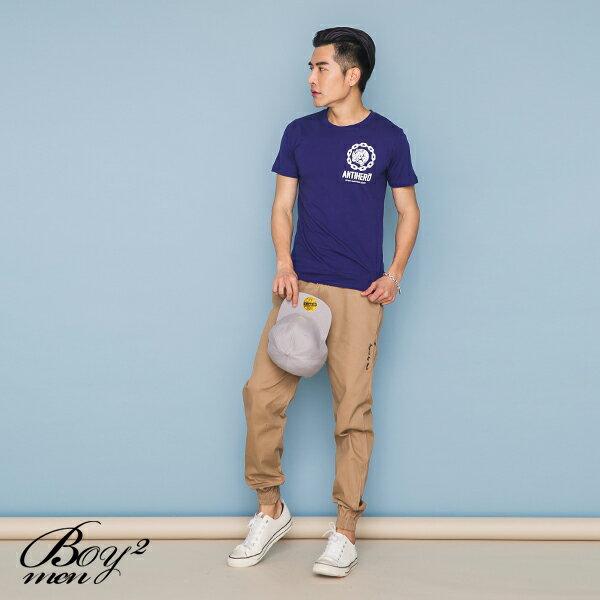 ☆BOY-2☆【JJ737】韓版潮流素面犀牛短袖T恤 2