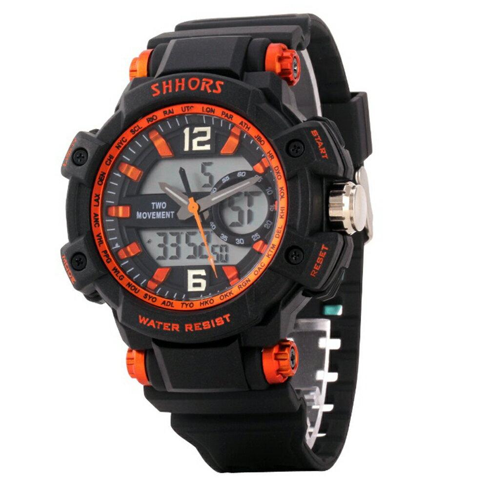 SHHORS SH-852 熱血運動亮色防水多功能電子錶 1