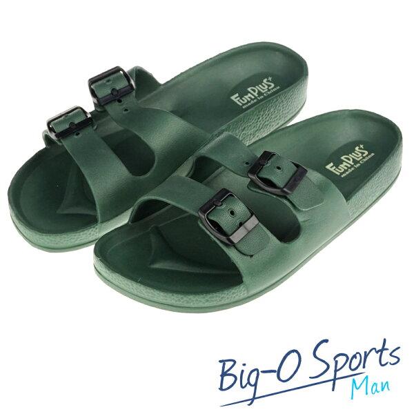 秒殺新款!!!  FUN PLUS+  輕便鞋 涼鞋 運動拖鞋  男 116101831000  Big-O Sports