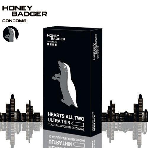 【超薄】蜜歡家族HONEY BADGER 保險套 - 超薄零零貳 - 12入裝