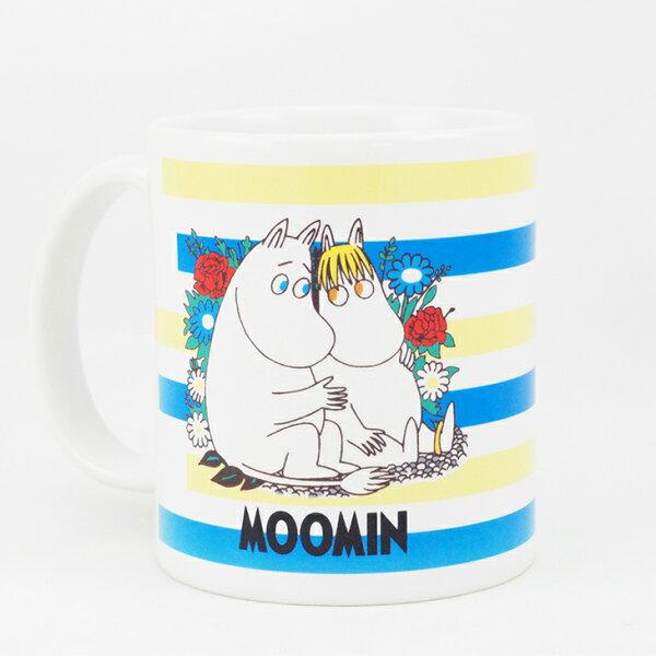 Moomin嚕嚕米授權 - 馬克杯 / 牛奶杯:【 羅曼史 】