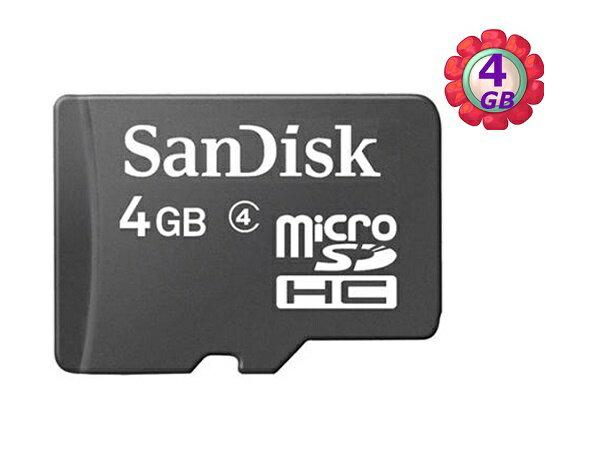 工業包 SanDisk 4GB 4G microSDHC【C4】microSD micro SDHC 記憶卡 手機記憶卡